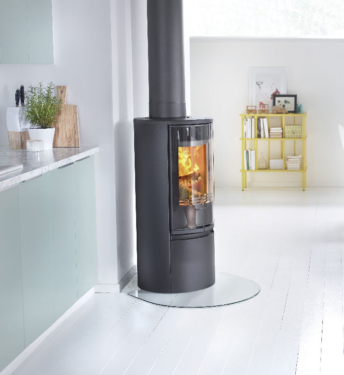 Corner Hearth Pads  WoodlandDirectcom Wood Stoves and