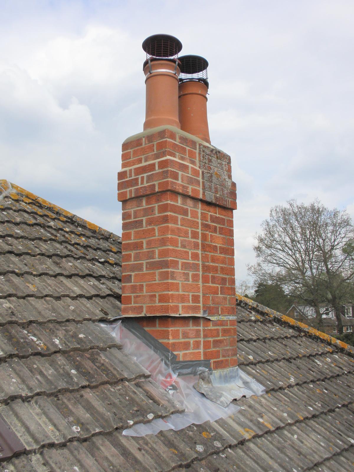 Chimney Construction Materials : Building brick chimneys