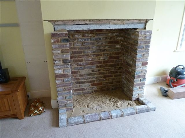Opening up and building fireplaces 7 outlining the hearth teraionfo