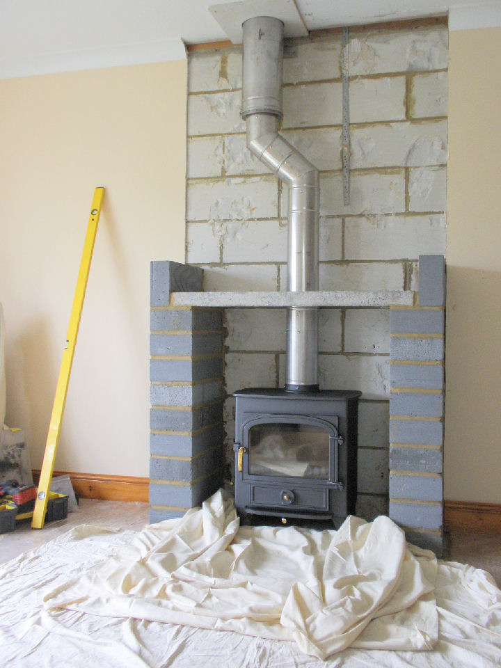 Wood Burning Stove Chimney Requirements Image Of