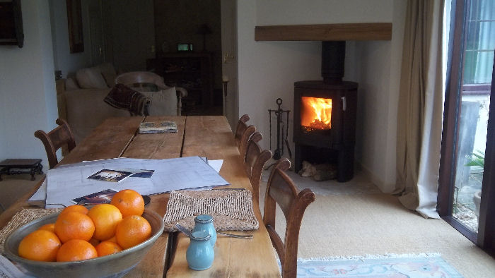 Technical Data For The Contura 54 Wood Burning Stove
