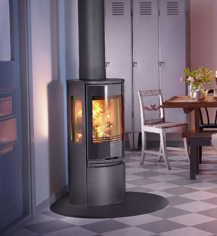 Technical data for Contura 556 Style wood burning stove