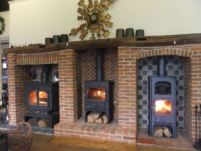 New Fireplaces For Our Clearview Wood Burning Stoves