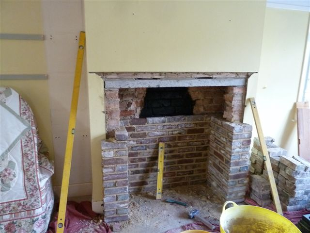 opening up and building fireplaces rh woodburners com make a fireplace screen make a fireplace