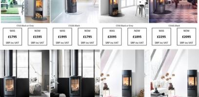 Contura Autumn Promotion - £200 off selected stoves