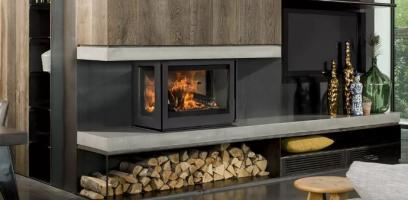 Peripheral vision - two and three-sided stoves